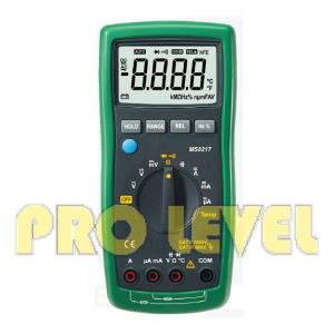 Professional 4000 Counts Autoranging Digital Multimeter (MS8217) pictures & photos