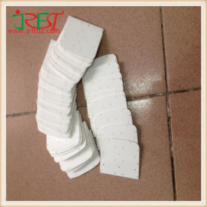 Alumina Ceramic Plate Themal Conductive Ceramic Sheet with 3 Hole pictures & photos
