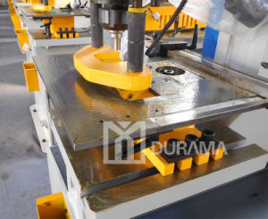Hydraulic Iron Worker/ Hydraulic Punch and Shear Metal Worker/Hydraulic Fabrication Machine pictures & photos