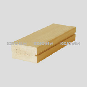 OEM/ODM WPC Wood Plastic Composite Square Profile (F-7038) pictures & photos