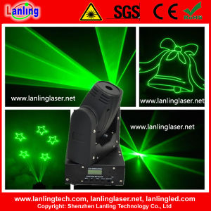50MW 520nm Green Mini Moving-Head Animation Laser DMX pictures & photos