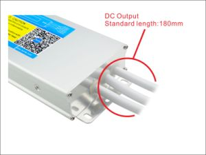 12V 300W IP67 2 Years Warranty SAA LED Power Supplies with Australian Plug pictures & photos