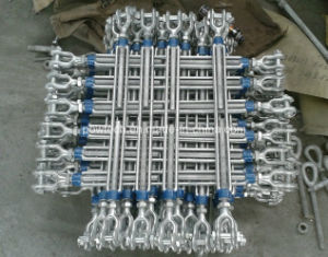 Drop Forged Galvanized DIN1480 Turnbuckle with Jaw and Jaw pictures & photos