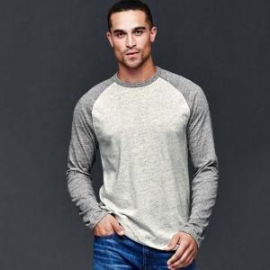 Custom Men′s Round V Neck Knit Long Short Sleevet Women Man Men Men′s Polo Longline 3D Sublimation Blank Cotton T Shirt T-Shirt Design Wholesale China pictures & photos