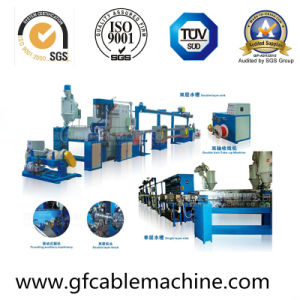 PVC Plastic Wire Cable Extruder Making Machine pictures & photos