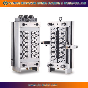 12cavities Pin Valve Preform Mould With Hot Runner System