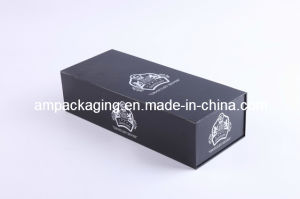 Wholesale Custom Luxury Packaging Paper Black Gift Box pictures & photos