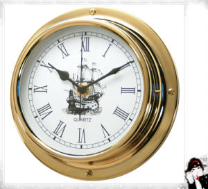 Gl198 Roman Dial with Sail 180mm Nautical Quartz Clock pictures & photos