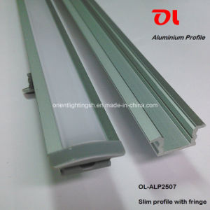 Alp2507 Slim Extrusion for LED Strip Aluminium Profile pictures & photos