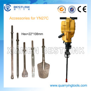 Quarrying Marble and Granite Yn27c Gasoline Jack Hammer pictures & photos