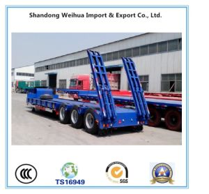 Heavy Duty Lowbed Semi Trailer From Factory pictures & photos