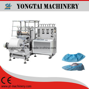 High Speed Automatic Disposable Nonwoven Shoe Cover Making Machine pictures & photos