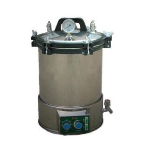 18L Electric Heated Portable Pressure Steam Autocalve (YX-18LDJ)