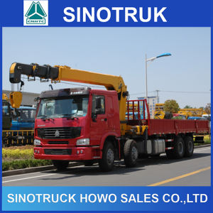 10 Ton Telescopic Boom Truck Mounted Crane pictures & photos