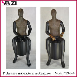 Fiberglass Sitting Male Mannequins Window Manikins for Fashion Display pictures & photos