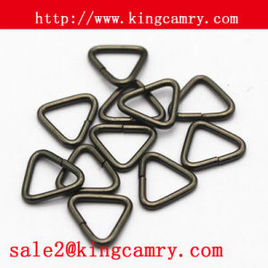 Metal Tri-Glide Buckle, Backage Tri-Glide, Tri-Ring for Bags pictures & photos