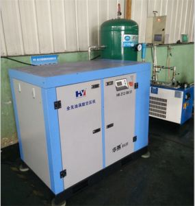 Oil- Free Lubrication Style AC Power Source Scroll Air Compressor