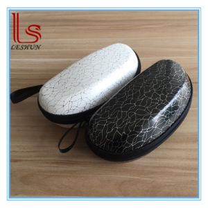 High Grade Leather Glasses Case Antique Pattern Figured Sunglasses Box pictures & photos