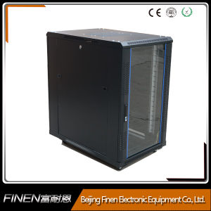 Fully Enclosed 19′′ 22u Stainless Steel Rack Cabinet pictures & photos