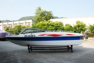 10 Persons Fiberglass Passenger Speed Boat pictures & photos