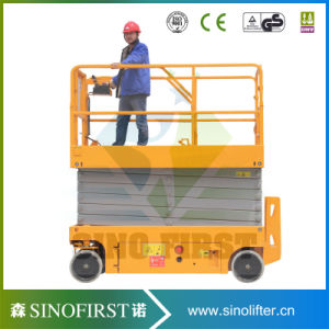 6m to 12m High Quliaty Automatic Mobile Electric Scissor Lift pictures & photos