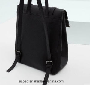 High Quality Lichee Pattern PU Bag Fashion Backpack for Women pictures & photos