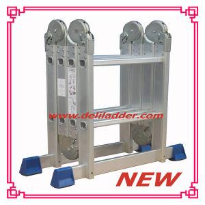 Aluminum Ladder/ Domestic Ladder /Multi-Purpose Ladder 4X2 pictures & photos