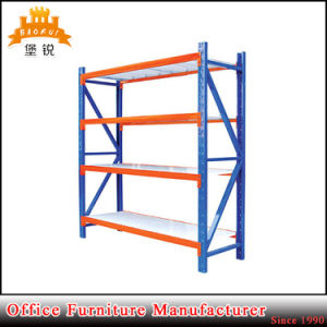 Blue Orange Knock Down Medium Adjustable Metal Storage Shelf Heavy Duty Steel Warehouse Racks pictures & photos