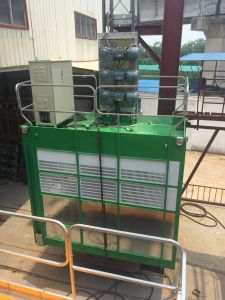 Two Cabinets Sell High Quality Engineering Building Elevator Machinery pictures & photos