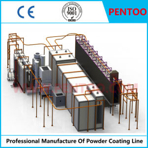 Powder Coating Plant for Painting Construction Curtain Wall pictures & photos
