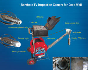 Water Borehole Camera, Underwater Inspection Camera, Water Well Inspection Camera, Borehole Camera, Borewell Camera for Sale pictures & photos