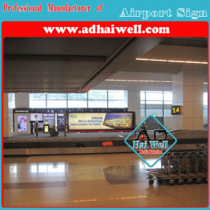 Airport LED Scrolling Light Box Sign pictures & photos
