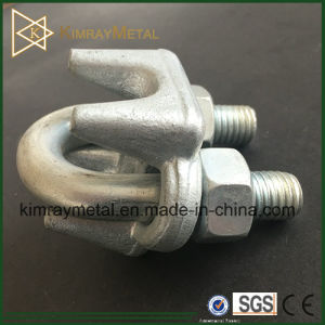 Electro Galvanzied Forged Wire Rope Clamp pictures & photos