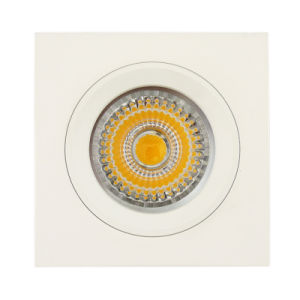 Aluminum Die Casting GU10 MR16 Square Fixed Recessed LED Ceiling Light (LT1105) pictures & photos