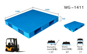 Suzhou Manufacturer of Heavy Duty Plastic Pallet pictures & photos