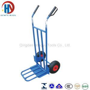 Heavy Duty Garden Metal Two Wheel Hand Truck/Hand Trolley pictures & photos