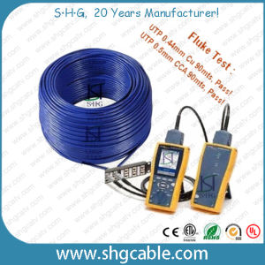 Cheap Network LAN Cable Cat5e UTP CCA pictures & photos