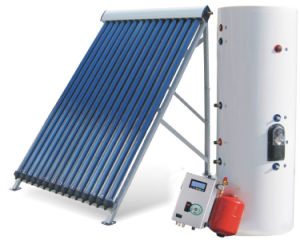 Split Pressurized Solar Water Heater Solar Geyser, Heat Pipe Solar Collector Solar Water Heater System (150626) pictures & photos