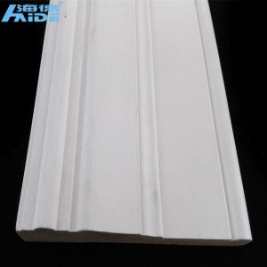 White Plain Round Gypsum Cornice for Ceiling Decoration PU Moulding pictures & photos