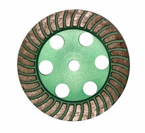 Flat Turbo Cup Wheel Metal Body