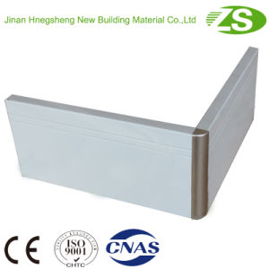 Top Quality Aluminium Brush Silver Kitchen Cabinet Plinth pictures & photos