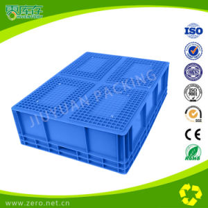 Blue Virgin PP Material Stackable Plastic Box pictures & photos