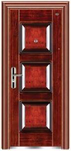 High Quality Steel Security Door for Villa/Garden Steel Door/ Steel Glass Door pictures & photos