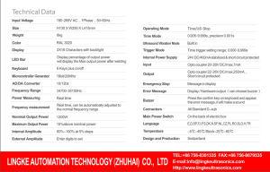 Industrial Ultrasonic Rinco Generators for Plastic Welding pictures & photos