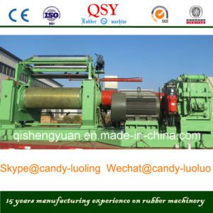 22 Inch Rubber Two Roll Open Mixing Mill Machine with Stock Blender pictures & photos
