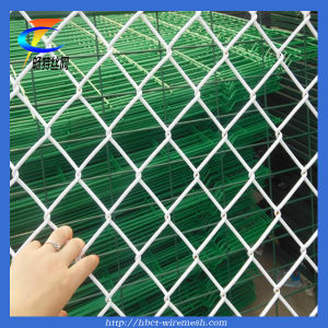 PVC Coated Chain Link Fence Mesh pictures & photos