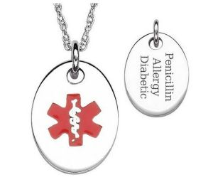 2013 Fashion Jewelry Set Medical ID Pendant Necklace (RD-JSP0018)