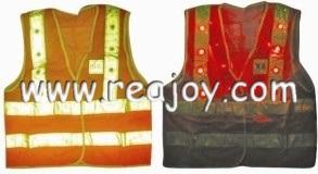 ANSI LED Reflective Vest (B004)