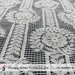 Textile Cord Knitted Lace Fabric for Dresses (M3449-G) pictures & photos