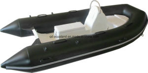 Aqualand 13feet Rib Motor Boat/Rigid Inflatable Fishing Boat /Inflatable Dinghy (RIB400) pictures & photos